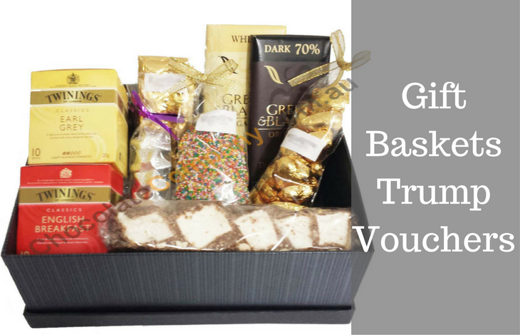 Gift Baskets Trump Vouchers