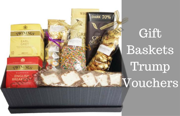 Gift Baskets Trump Vouchers