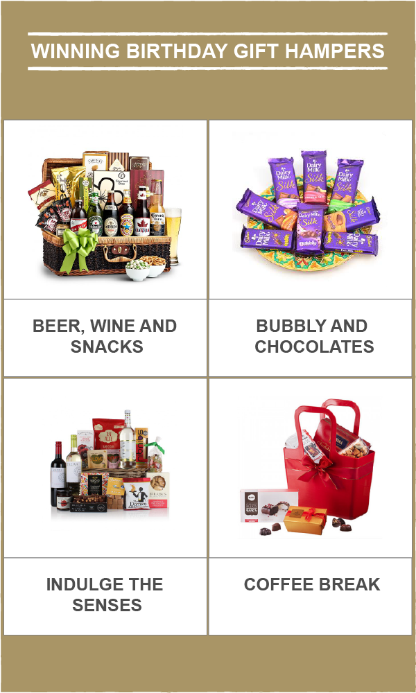 WINNING BIRTHDAY GIFT HAMPERS