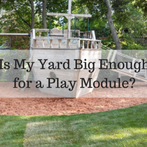Is My Yard Big Enough for a Play Module