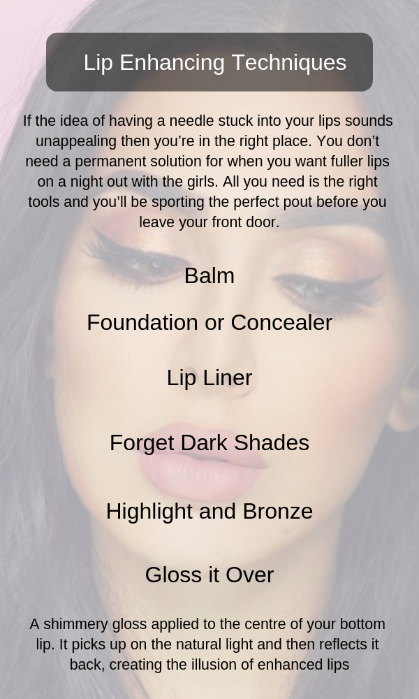 Lip Enhancing Beauty Techniques