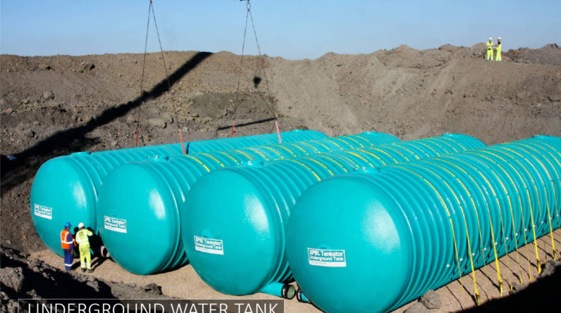 Underground Water Tank